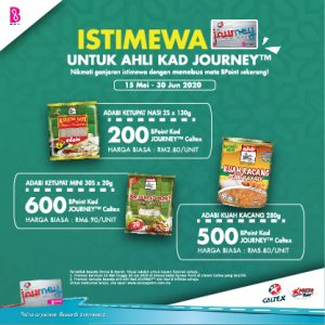 15 May – 30 June 2020 <br><p>'Enjoy special rewards with Caltex JOURNEY™ Card'</p>